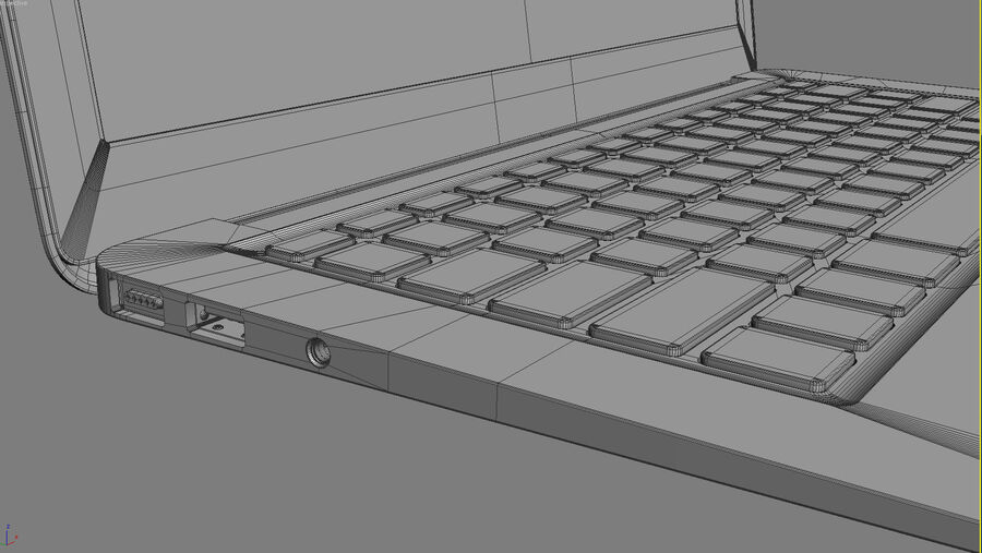 Apple Electronics Collection 2014 v1 royalty-free 3d model - Preview no. 116