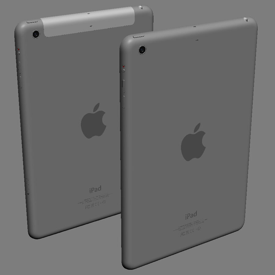 Apple Electronics Collection 2014 v1 royalty-free 3d model - Preview no. 77