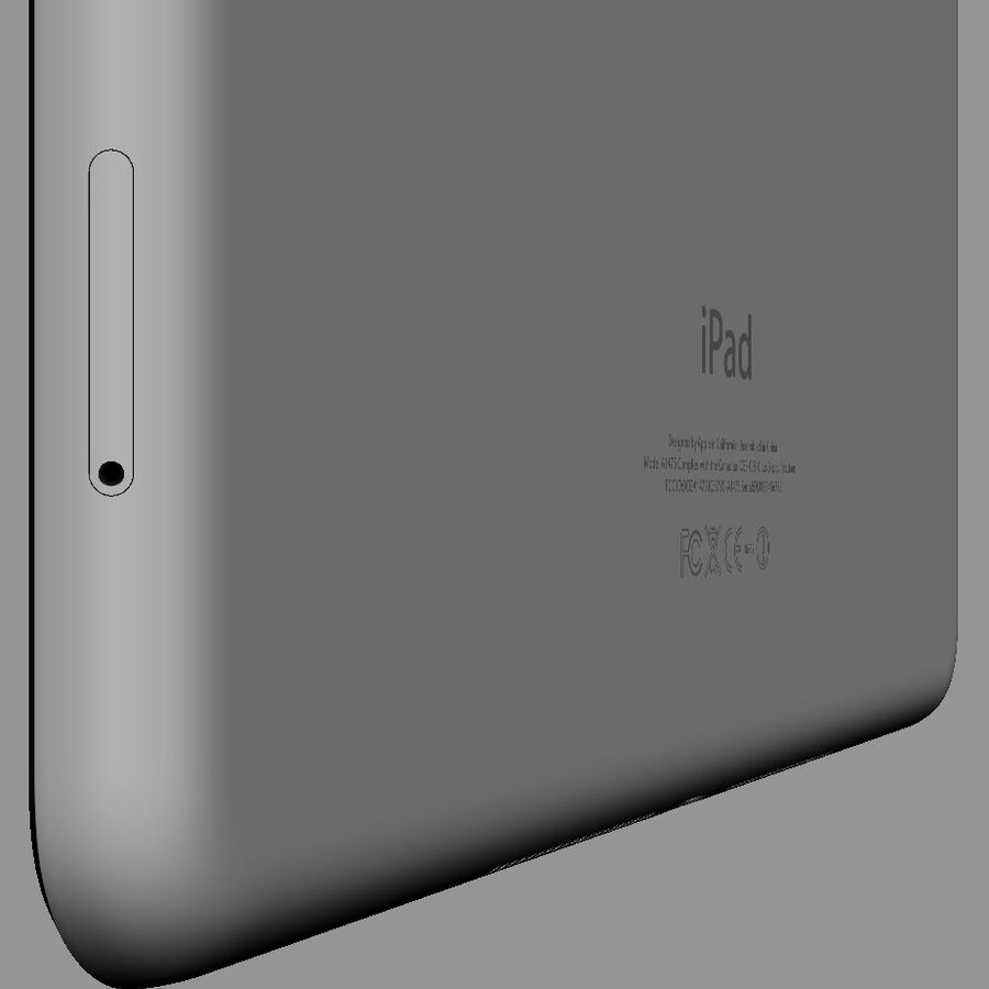 Apple Electronics Collection 2014 v1 royalty-free 3d model - Preview no. 57