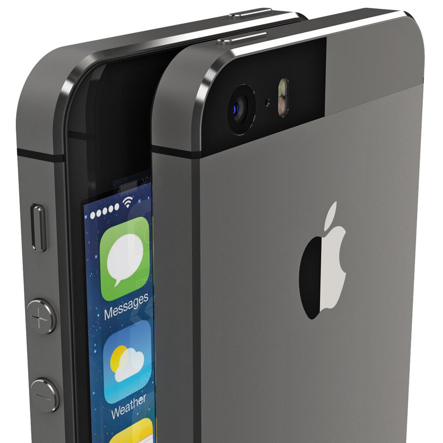 Apple Electronics Collection 2014 v1 royalty-free 3d model - Preview no. 12