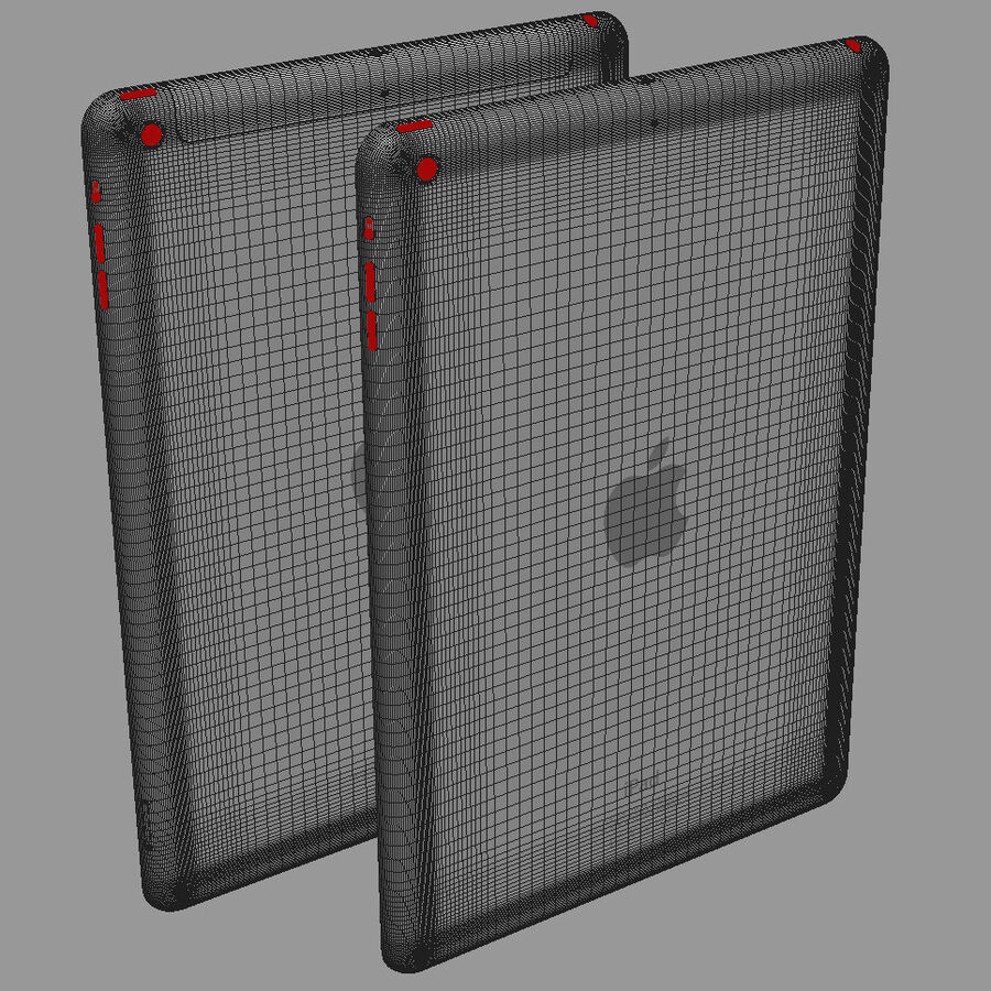 Apple Electronics Collection 2014 v1 royalty-free 3d model - Preview no. 52