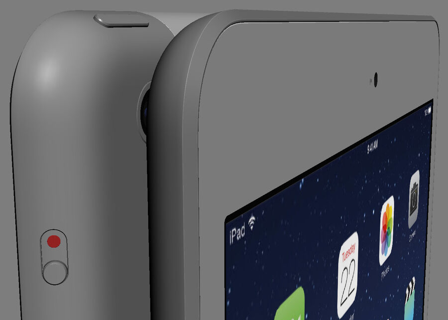 Apple Electronics Collection 2014 v1 royalty-free 3d model - Preview no. 75