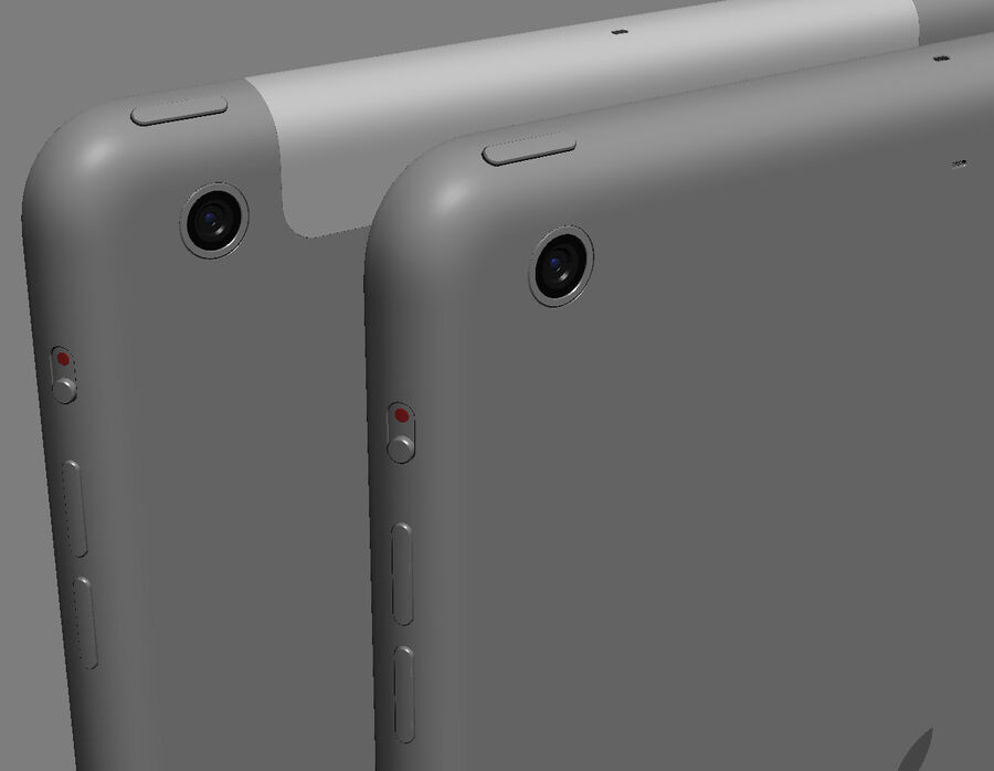 Apple Electronics Collection 2014 v1 royalty-free 3d model - Preview no. 79