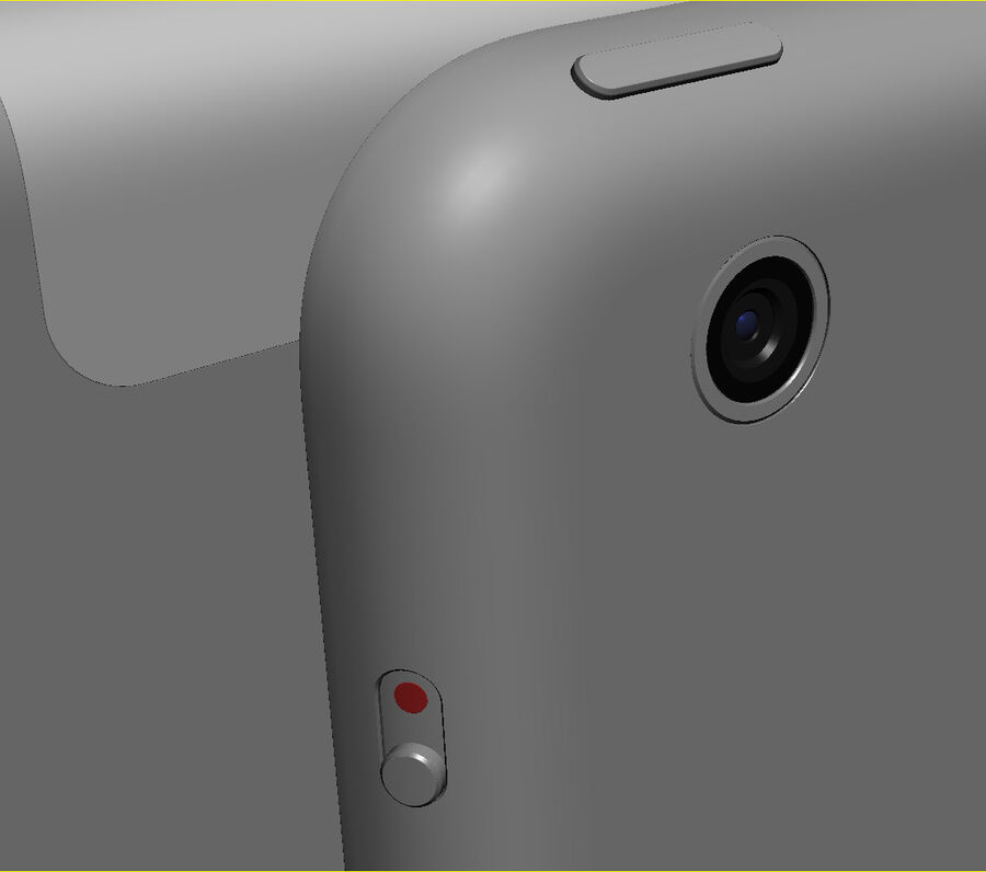 Apple Electronics Collection 2014 v1 royalty-free 3d model - Preview no. 55