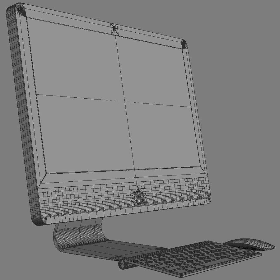 Apple Electronics Collection 2014 v1 royalty-free 3d model - Preview no. 140