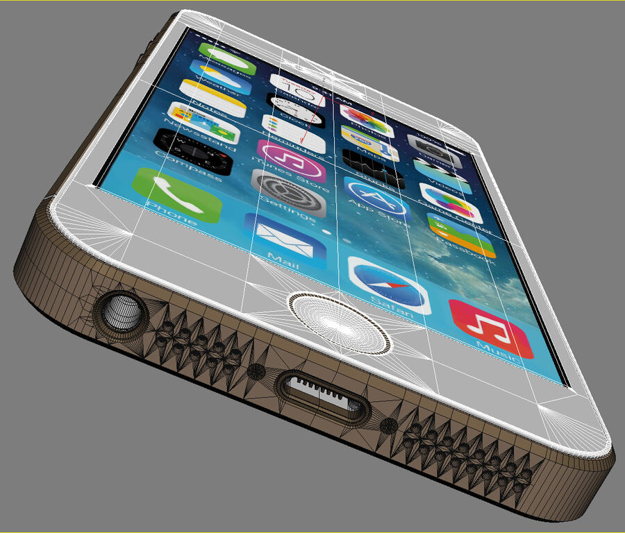 Apple Electronics Collection 2014 v1 royalty-free 3d model - Preview no. 32