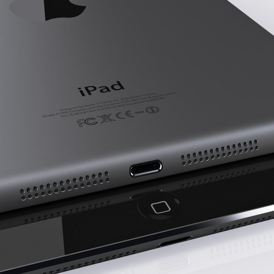 Apple Electronics Collection 2014 v1 royalty-free 3d model - Preview no. 74