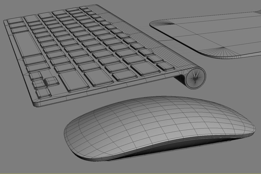 Apple Electronics Collection 2014 v1 royalty-free 3d model - Preview no. 141