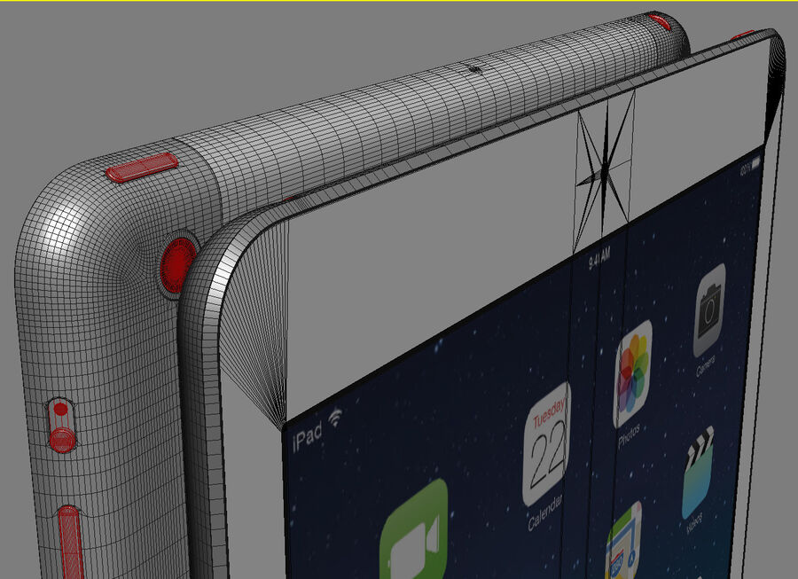 Apple Electronics Collection 2014 v1 royalty-free 3d model - Preview no. 62