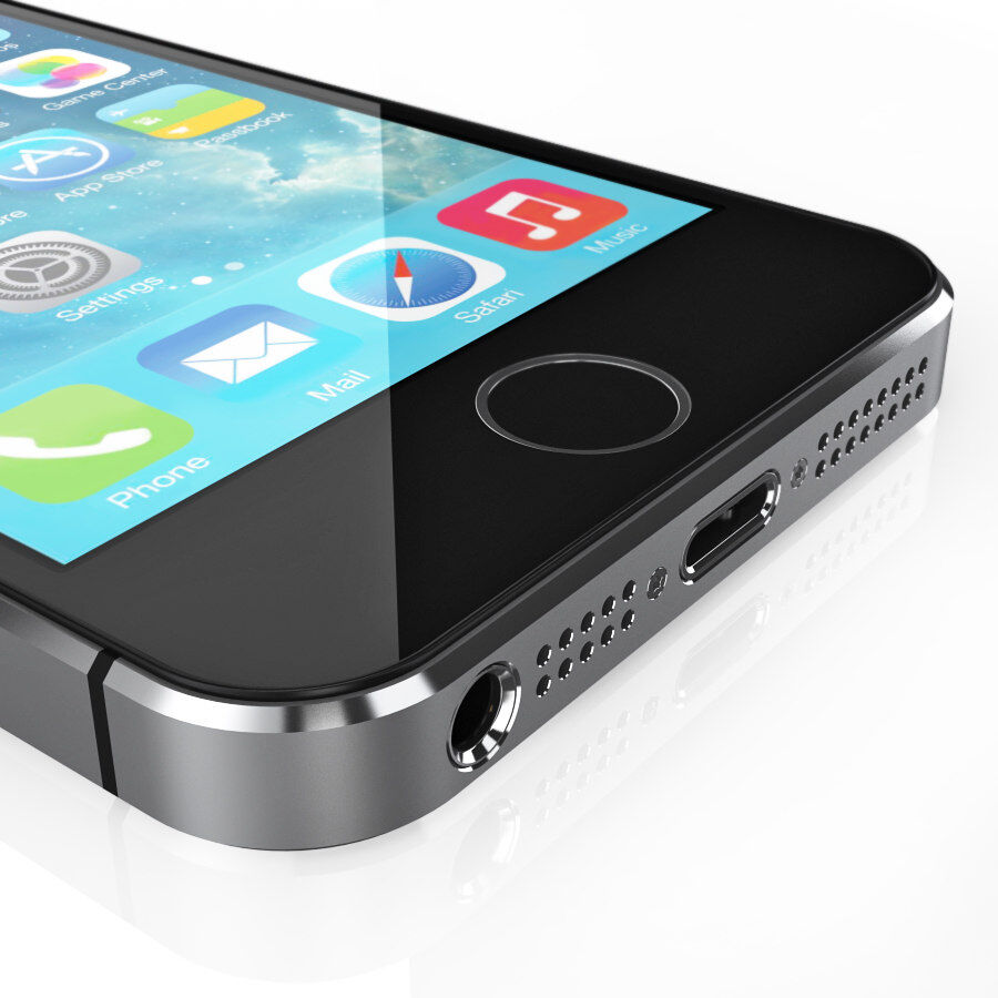 Apple Electronics Collection 2014 v1 royalty-free 3d model - Preview no. 18
