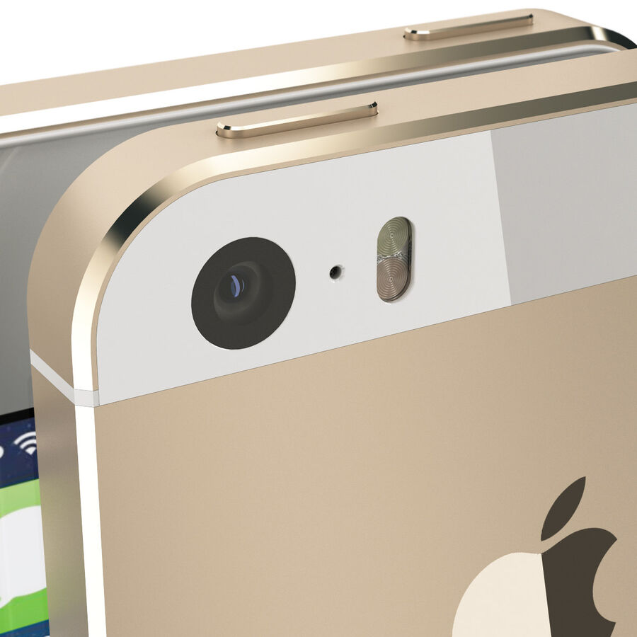 Apple Electronics Collection 2014 v1 royalty-free 3d model - Preview no. 13