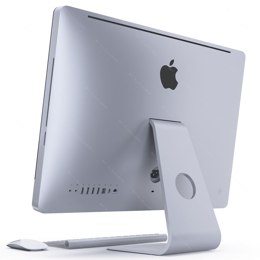 Apple Electronics Collection 2014 v1 royalty-free 3d model - Preview no. 123