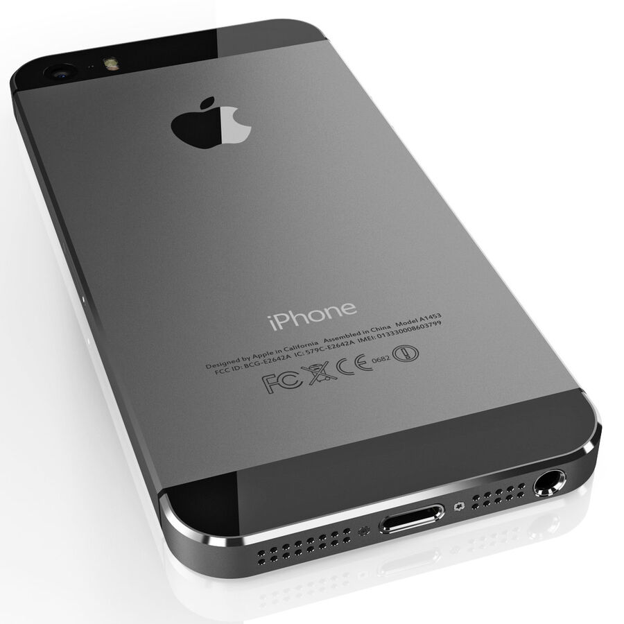 Apple Electronics Collection 2014 v1 royalty-free 3d model - Preview no. 17