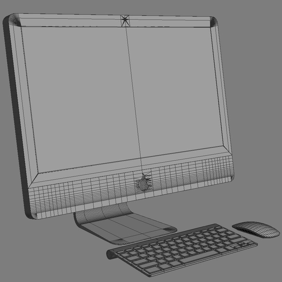 Apple Electronics Collection 2014 v1 royalty-free 3d model - Preview no. 137