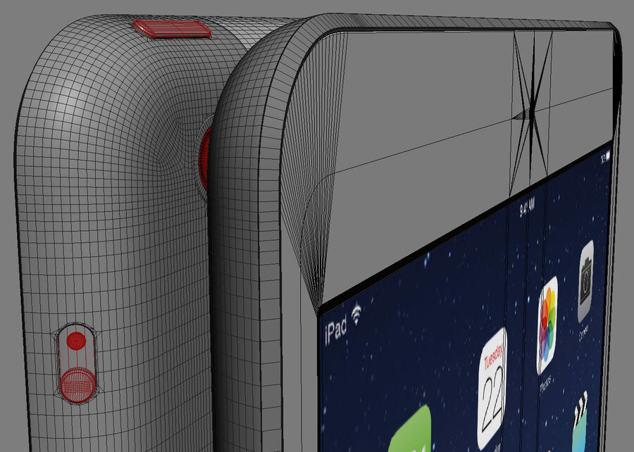 Apple Electronics Collection 2014 v1 royalty-free 3d model - Preview no. 76