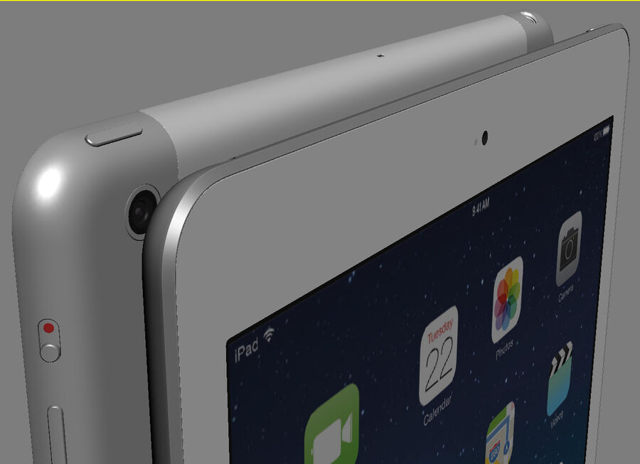 Apple Electronics Collection 2014 v1 royalty-free 3d model - Preview no. 61