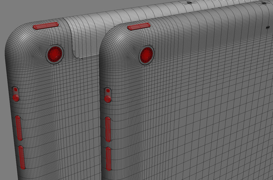Apple Electronics Collection 2014 v1 royalty-free 3d model - Preview no. 54