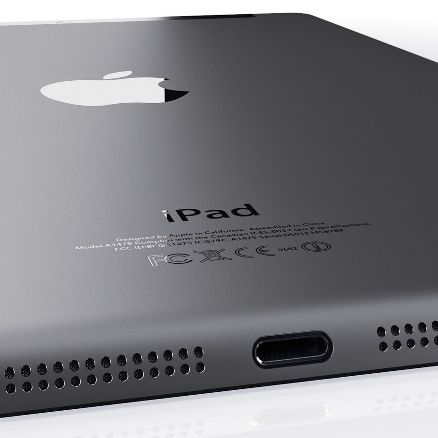 Apple Electronics Collection 2014 v1 royalty-free 3d model - Preview no. 47