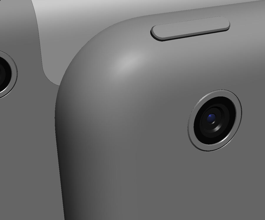 Apple Electronics Collection 2014 v1 royalty-free 3d model - Preview no. 81