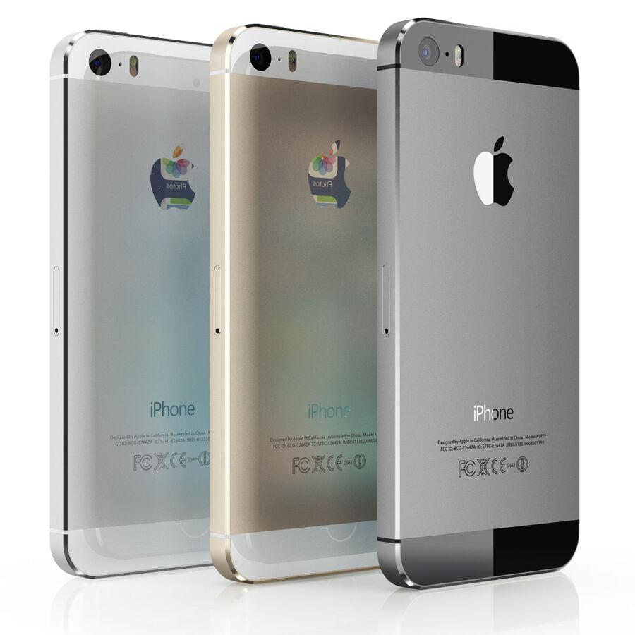 Apple Electronics Collection 2014 v1 royalty-free 3d model - Preview no. 8