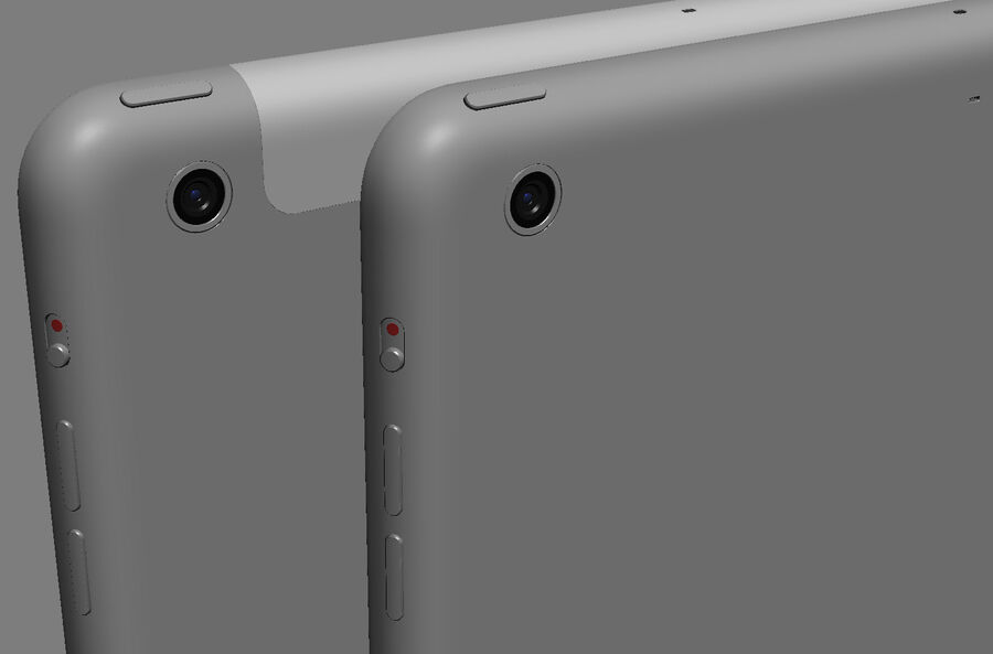 Apple Electronics Collection 2014 v1 royalty-free 3d model - Preview no. 53