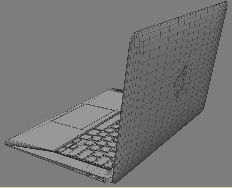 Apple Electronics Collection 2014 v1 royalty-free 3d model - Preview no. 113