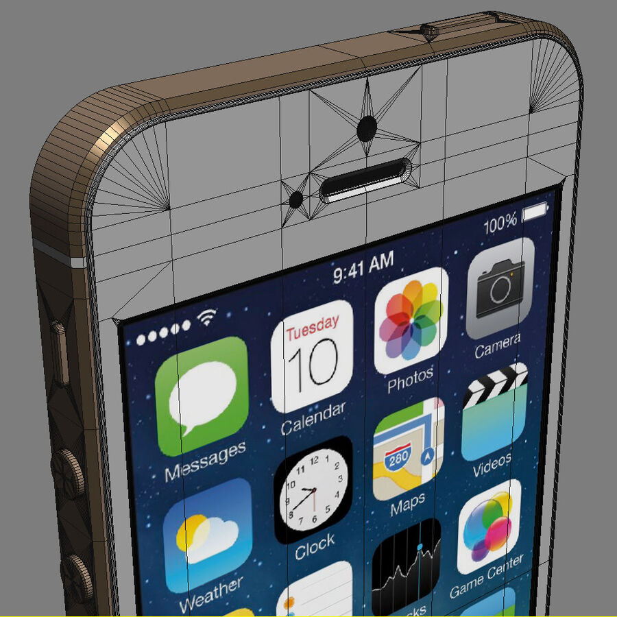 Apple Electronics Collection 2014 v1 royalty-free 3d model - Preview no. 26