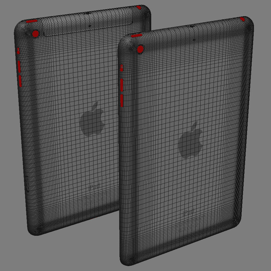 Apple Electronics Collection 2014 v1 royalty-free 3d model - Preview no. 78