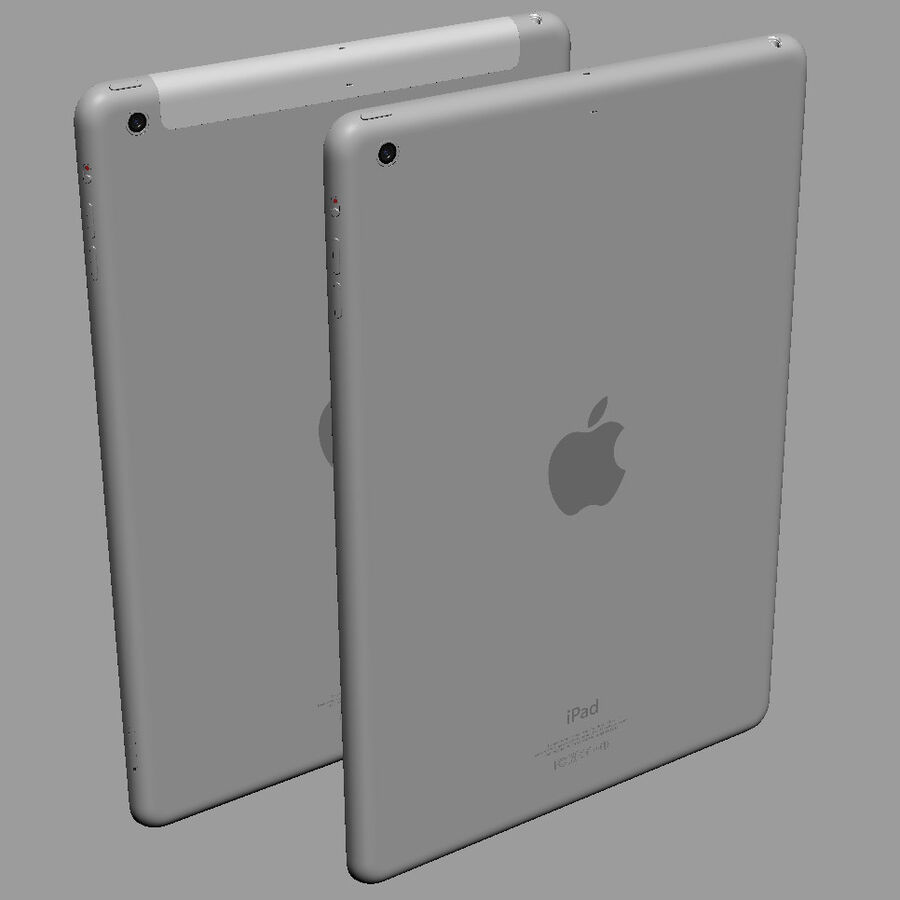 Apple Electronics Collection 2014 v1 royalty-free 3d model - Preview no. 51