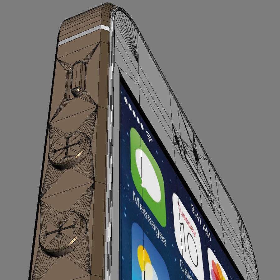 Apple Electronics Collection 2014 v1 royalty-free 3d model - Preview no. 27
