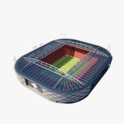Estádio de esporte 3d model
