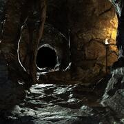 Cueva modelo 3d