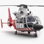 Eurocopter AS-365 Hava Ambulansı 3d model