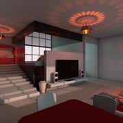 Appartement élégant 3d model