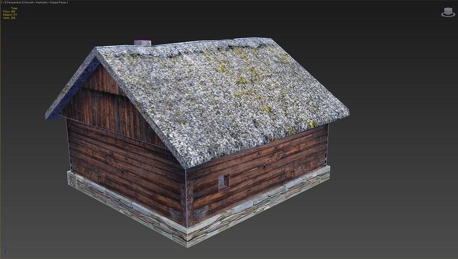 历史建筑 royalty-free 3d model - Preview no. 21