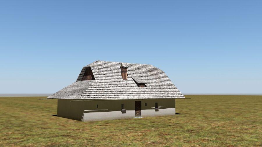 历史建筑 royalty-free 3d model - Preview no. 7