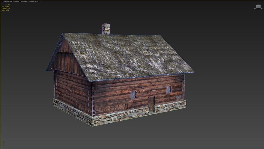 历史建筑 royalty-free 3d model - Preview no. 19