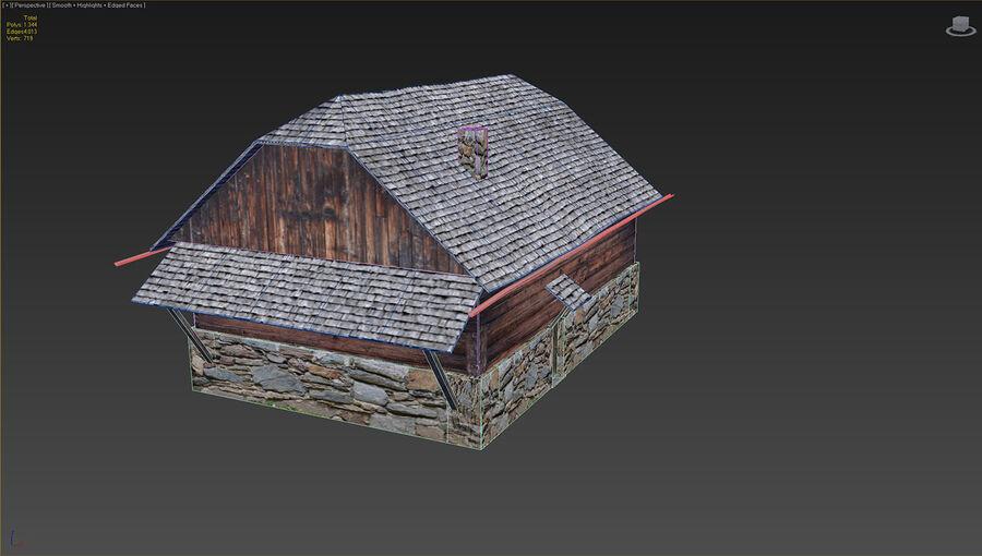 历史建筑 royalty-free 3d model - Preview no. 10