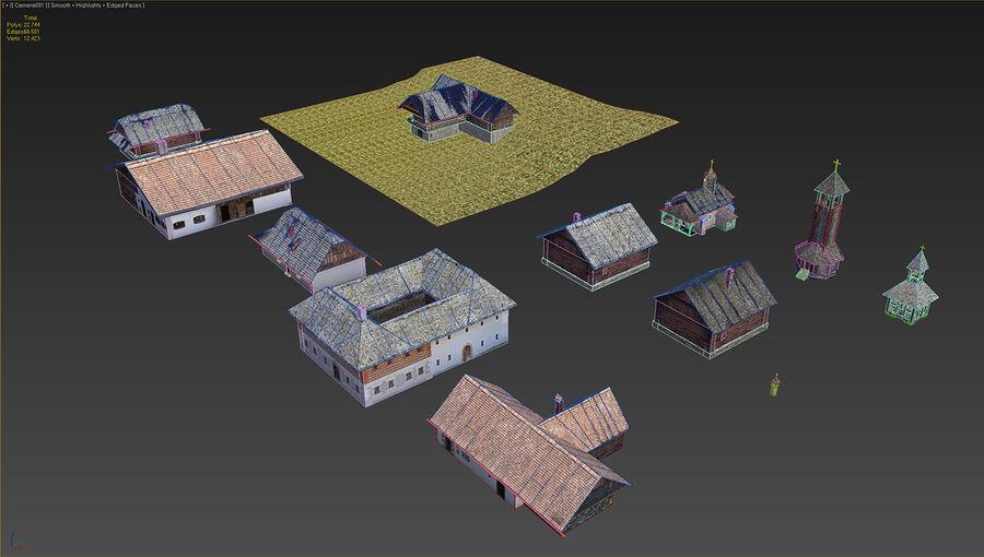历史建筑 royalty-free 3d model - Preview no. 4