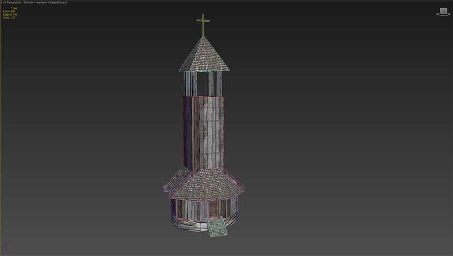 历史建筑 royalty-free 3d model - Preview no. 34