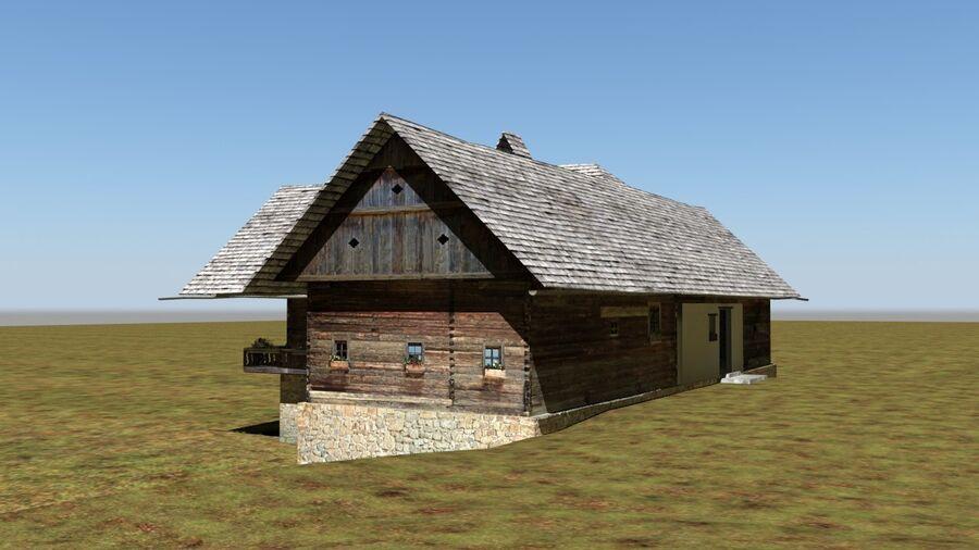 历史建筑 royalty-free 3d model - Preview no. 24