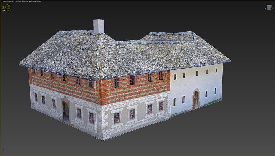 历史建筑 royalty-free 3d model - Preview no. 14