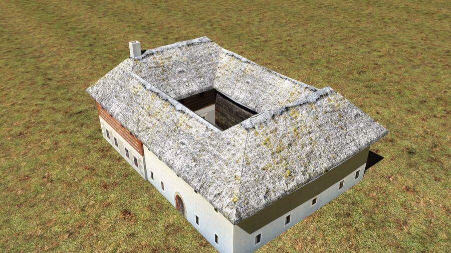 历史建筑 royalty-free 3d model - Preview no. 13