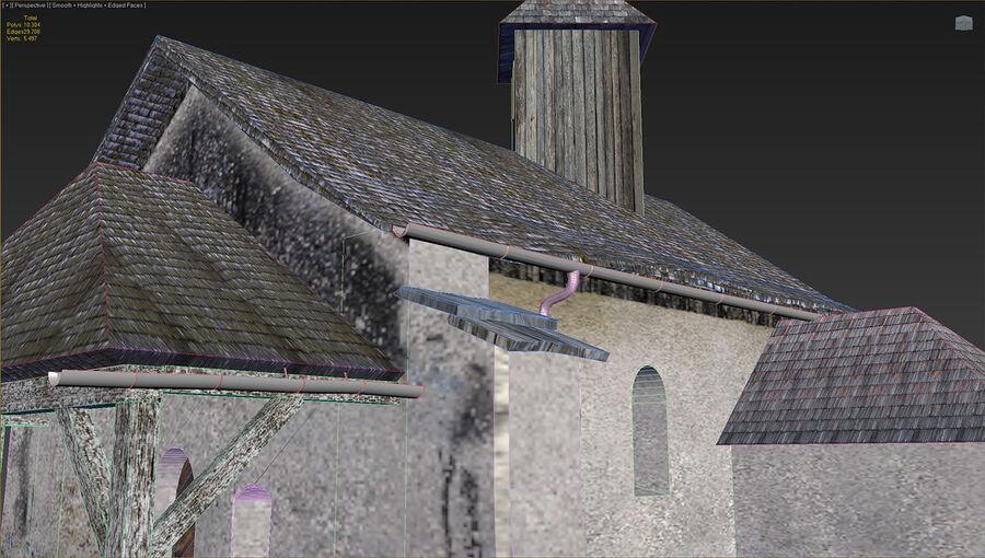 历史建筑 royalty-free 3d model - Preview no. 31