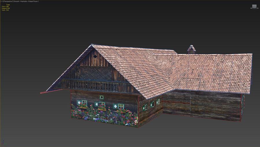 历史建筑 royalty-free 3d model - Preview no. 16