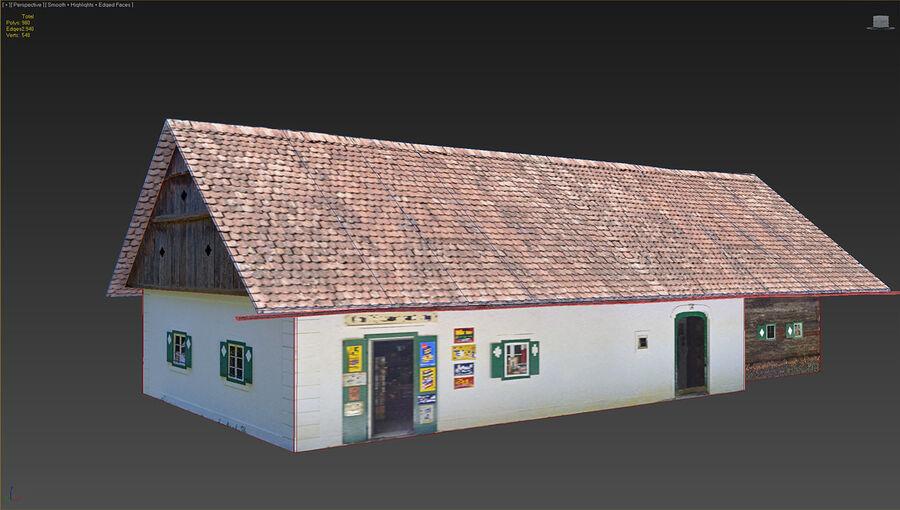 历史建筑 royalty-free 3d model - Preview no. 17