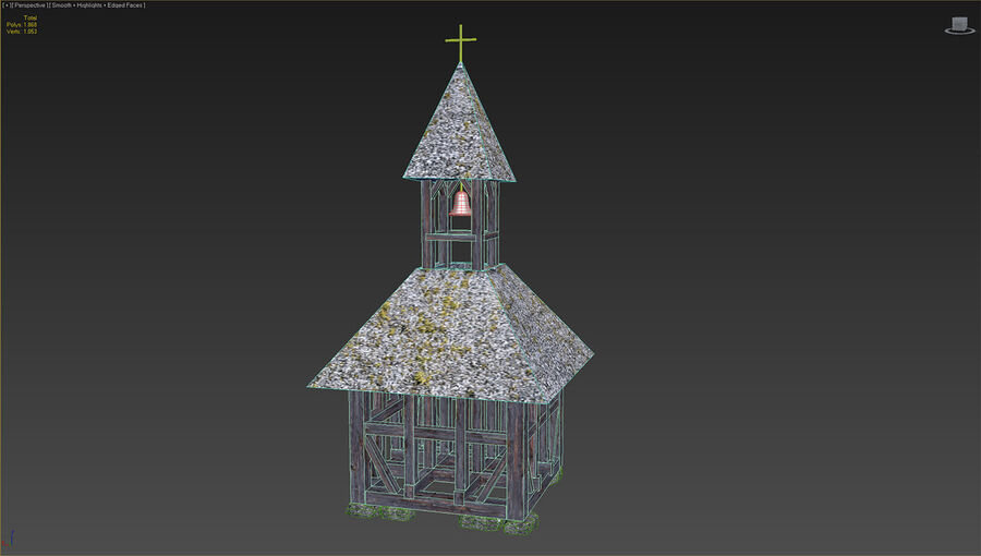 历史建筑 royalty-free 3d model - Preview no. 37