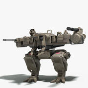 Robot de combate modelo 3d