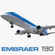 Embraer ERJ-190 KLM 3d model