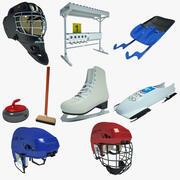 Kış Sporları 02 3d model